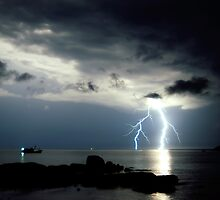 Lightning by Paul O'Connell