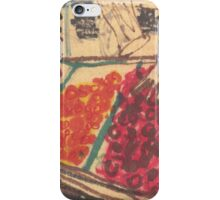 chinatown fruit stand iPhone Case/Skin