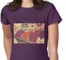 chinatown fruit stand Womens Fitted T-Shirt