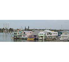 Key West Houseboats Photographic Print