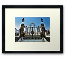 Royal Naval College Gates Framed Print