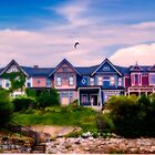 Four Homes on a Hill by kenmo