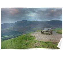 Skiddaw View Poster