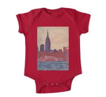 empire state silhouette One Piece - Short Sleeve