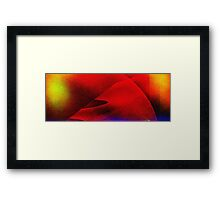 Red Dessert-Available As Art Prints-Mugs,Cases,Duvets,T Shirts,Stickers,etc Framed Print