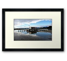 Out of the Blue! Framed Print