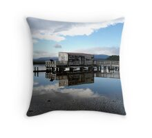 Out of the Blue! Throw Pillow