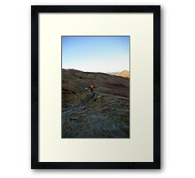 Clearing the Head Framed Print