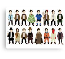 The Doctor's Wardrobe - Eleven Canvas Print