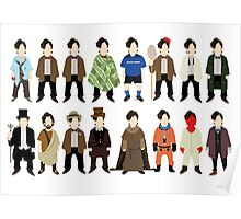 The Doctor's Wardrobe - Eleven Poster