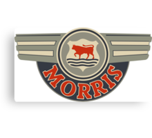 Vintage Morris Motors  Canvas Print