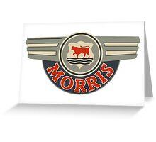 Vintage Morris Motors  Greeting Card