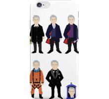 The Doctor's Wardrobe - Twelve iPhone Case/Skin
