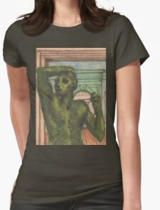 """""""the bronze age"""" Womens Fitted T-Shirt"""