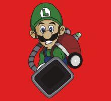 """Ghost Huntin' Luigi"" Kids Clothes"