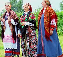 Russian Traditional Song group by Brita Lee