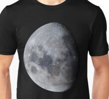 January Gibbous Moon Unisex T-Shirt
