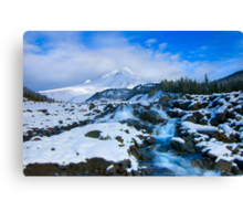 Mt. Hood Morning Canvas Print