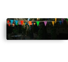 Colour on a dull day Canvas Print
