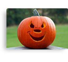 Happy Pumpkin Canvas Print