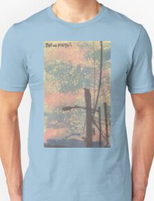 telephone wires and lamp Unisex T-Shirt