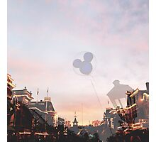 Disneyland's Main Street USA  Photographic Print