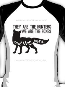 And we run. T-Shirt