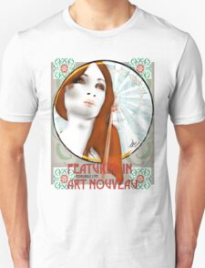 Featured in Art Nouveau - banner challenge T-Shirt