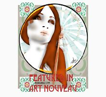 Featured in Art Nouveau - banner challenge Womens Fitted T-Shirt