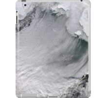 Cloud Streets in the Bering Sea iPad Case/Skin