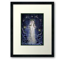 Yule Goddess Framed Print
