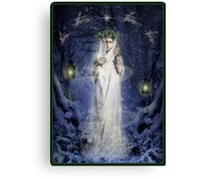 Yule Goddess Canvas Print