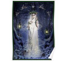 Yule Goddess Poster