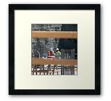 Construction Workers Framed Print