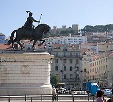 Lisbon square, Portugal by chord0