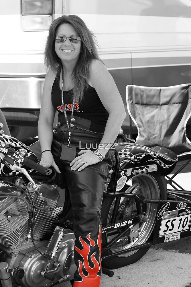 Julia Holliday AHDRA  Bike # SS - 10 by Luuezz