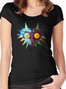 Majora's Mask - Twilight Princess Women's Fitted Scoop T-Shirt