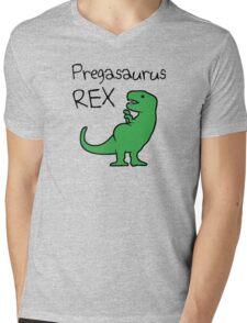 Pregasaurus Rex Mens V-Neck T-Shirt