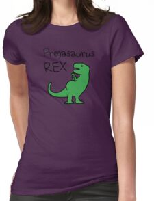 Pregasaurus Rex Womens Fitted T-Shirt