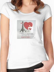 VALENTINE Women's Fitted Scoop T-Shirt