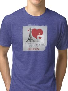 VALENTINE Tri-blend T-Shirt