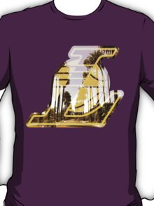 Lakers Silhouette  T-Shirt