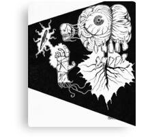 SPACE BRAIN! Canvas Print
