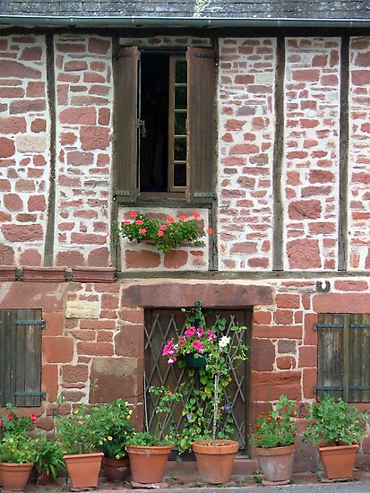 Collonges la Rouge by Charlotte Jarvis
