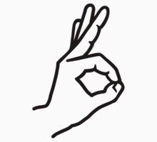 Hand finger ok by Designzz