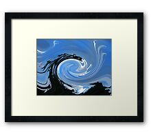 Dragons Breath Framed Print
