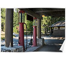 The Old Filling Station Poster