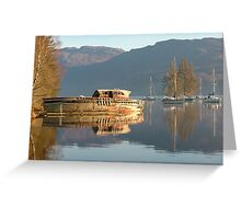 Boat on Loch Ness Greeting Card