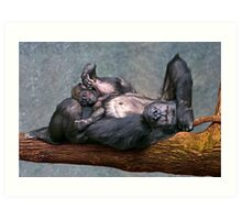 Chilling Out! Art Print