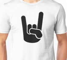 Rock Metal Hand Unisex T-Shirt